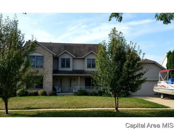 1116 Bridle Path Ln, Springfield, IL 62712 (MLS #182248) :: Killebrew & Co Real Estate Team