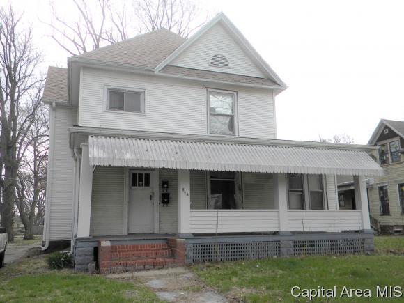 844 N Church St, Jacksonville, IL 62650 (MLS #182256) :: Killebrew & Co Real Estate Team