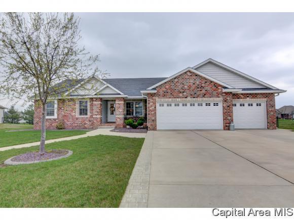 1208 Chimney Rock Ct, Sherman, IL 62684 (MLS #182287) :: Killebrew & Co Real Estate Team