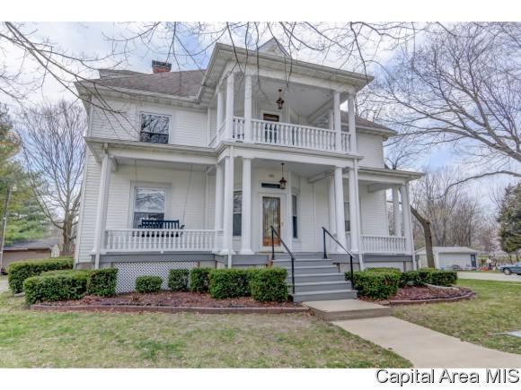 520 W Editor St, Ashland, IL 62612 (MLS #182387) :: Killebrew & Co Real Estate Team