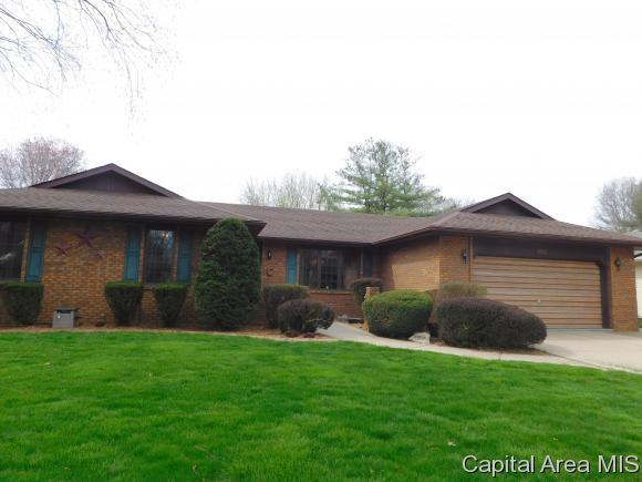 1116 Green Meadows Lane, Chatham, IL 62629 (MLS #182425) :: Killebrew & Co Real Estate Team