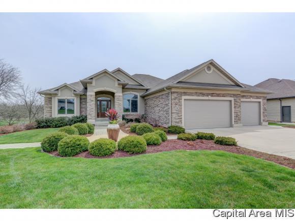 2821 Centennial Drive, Springfield, IL 62711 (MLS #182468) :: Killebrew & Co Real Estate Team