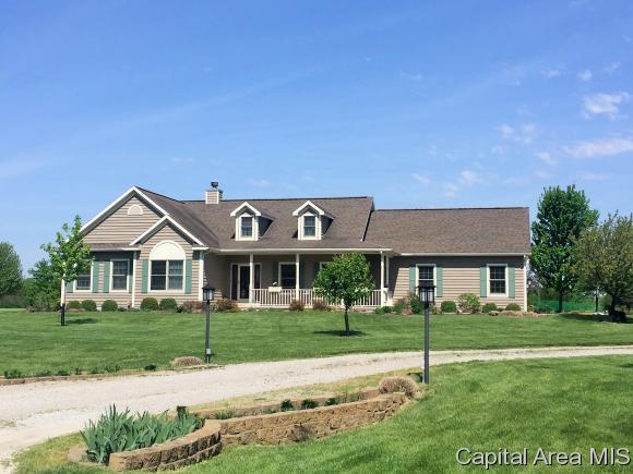 16317 S Meadow Ln, Petersburg, IL 62675 (MLS #182860) :: Killebrew & Co Real Estate Team