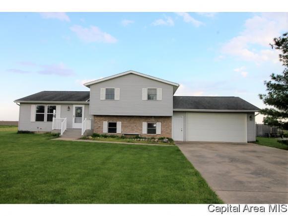 4800 W Divernon Rd, Auburn, IL 62615 (MLS #182896) :: Killebrew & Co Real Estate Team