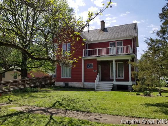 417 N 2ND ST, Girard, IL 62640 (MLS #182914) :: Killebrew & Co Real Estate Team