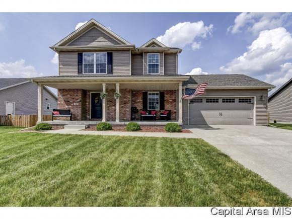 611 Garvey Ln, Chatham, IL 62629 (MLS #182997) :: Killebrew & Co Real Estate Team