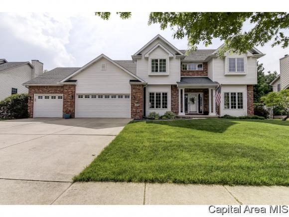 317 Keystone Dr, Chatham, IL 62629 (MLS #183052) :: Killebrew & Co Real Estate Team