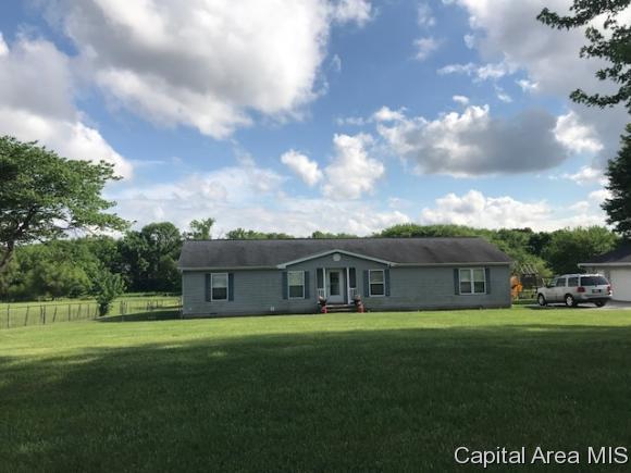14450 Walbaum Road, Pleasant Plains, IL 62677 (MLS #183146) :: Killebrew & Co Real Estate Team
