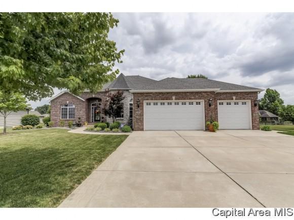 1150 Fountain Park Dr, Sherman, IL 62684 (MLS #183668) :: Killebrew & Co Real Estate Team