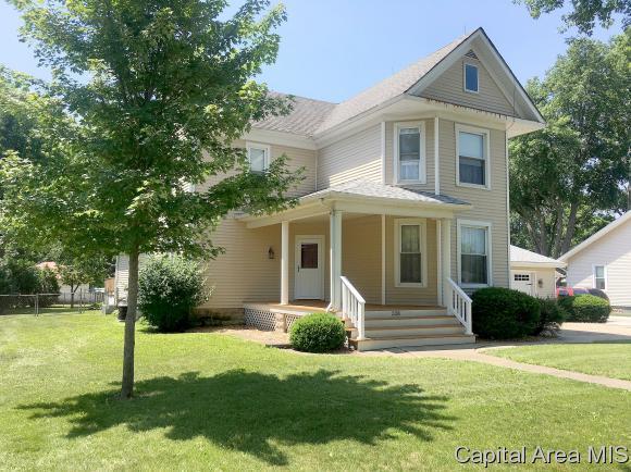 328 E Main, Williamsville, IL 62693 (MLS #183885) :: Killebrew & Co Real Estate Team