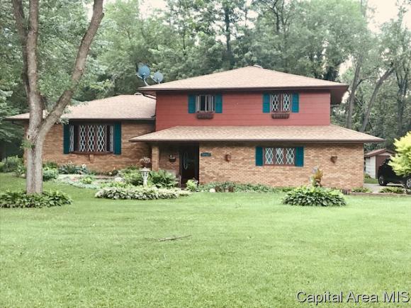 5953 Long Creek Dr, Rochester, IL 62563 (MLS #184034) :: Killebrew & Co Real Estate Team