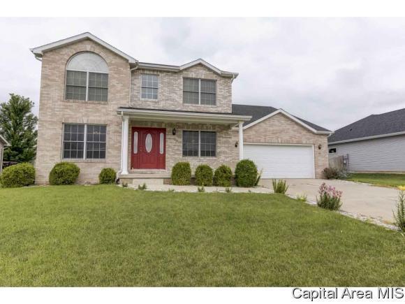 515 Sawmill Ct, Rochester, IL 62563 (MLS #184110) :: Killebrew & Co Real Estate Team