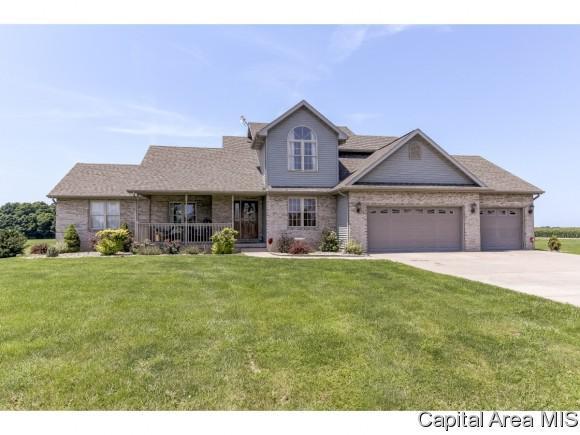 5551 Durango Trl, Pleasant Plains, IL 62677 (MLS #184254) :: Killebrew & Co Real Estate Team