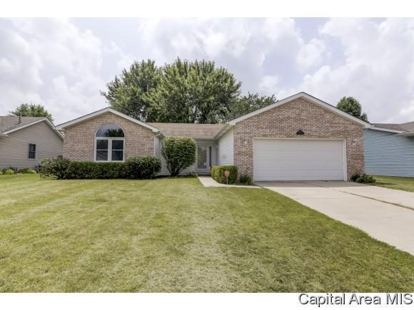 1208 Old Crows Way, Springfield, IL 62712 (MLS #184273) :: Killebrew & Co Real Estate Team