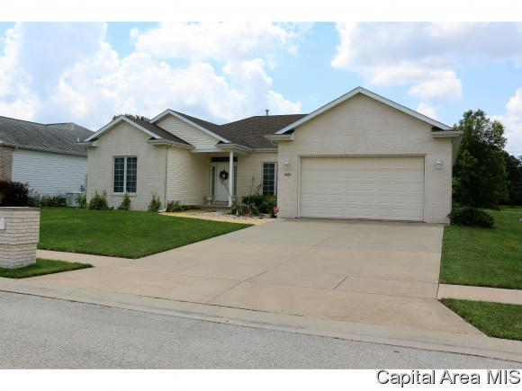 3605 Hoylake Dr, Springfield, IL 62712 (MLS #184433) :: Killebrew & Co Real Estate Team