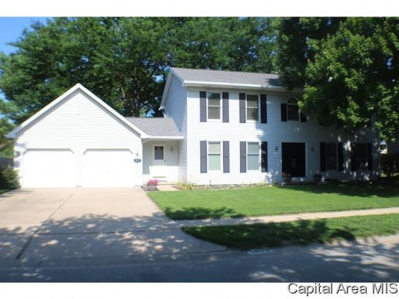 1613 Bent Oak Dr, Springfield, IL 62704 (MLS #184439) :: Killebrew & Co Real Estate Team