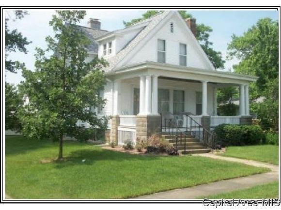 216 E Church St, Pleasant Plains, IL 62677 (MLS #184518) :: Killebrew RE