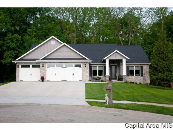 1901 Forest Glen, Chatham, IL 62629 (MLS #184545) :: Killebrew & Co Real Estate Team
