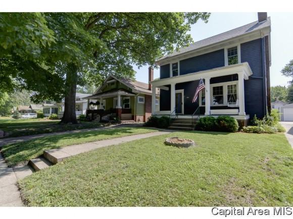 1712 S Lowell Ave, Springfield, IL 62704 (MLS #184562) :: Killebrew & Co Real Estate Team