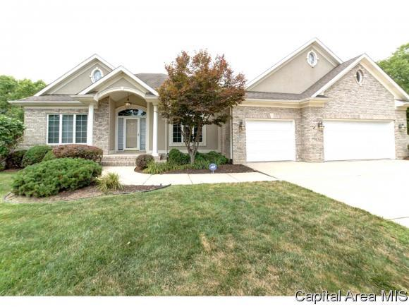 6205 Mackenzie Pl, Springfield, IL 62711 (MLS #184701) :: Killebrew & Co Real Estate Team