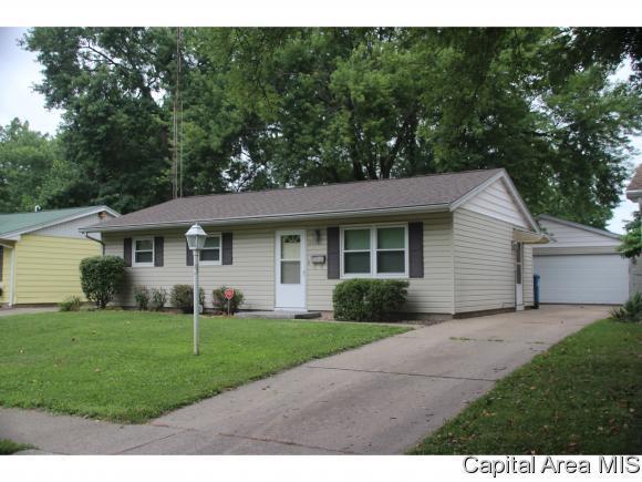 2521 Sandgate Rd, Springfield, IL 62702 (MLS #184865) :: Killebrew & Co Real Estate Team