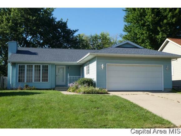 2621 Steiler Place, Springfield, IL 62703 (MLS #184872) :: Killebrew & Co Real Estate Team