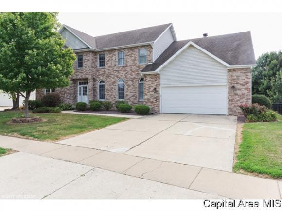2620 Tartan Way, Springfield, IL 62711 (MLS #184938) :: Killebrew & Co Real Estate Team