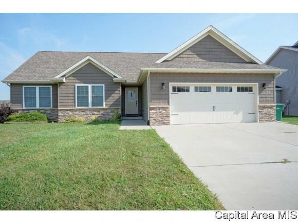 517 Garvey Lane, Chatham, IL 62629 (MLS #185071) :: Killebrew & Co Real Estate Team