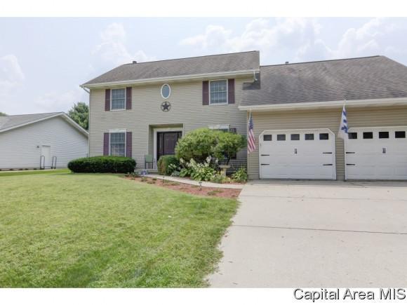 1108 Equestrian Ln, Springfield, IL 62712 (MLS #185361) :: Killebrew & Co Real Estate Team
