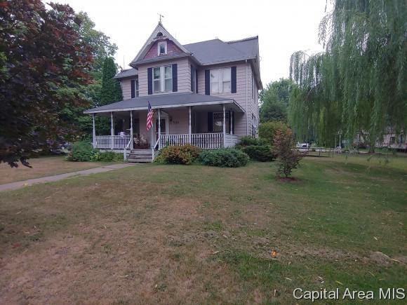 505 S Main St, Blandinsville, IL 61420 (MLS #185376) :: Killebrew & Co Real Estate Team