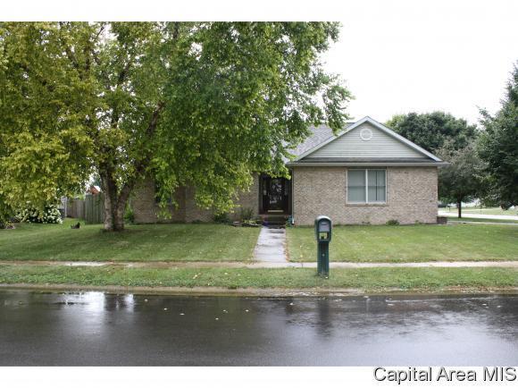 308 Linden Ln, Williamsville, IL 62693 (MLS #185414) :: Killebrew RE