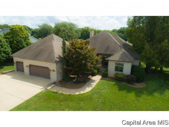 6500 Stonehaven Rdg, Springfield, IL 62711 (MLS #185454) :: Killebrew & Co Real Estate Team