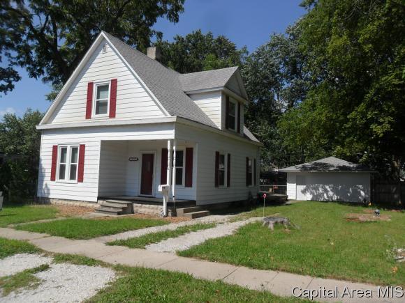 121 W Dean St, Virden, IL 62690 (MLS #185702) :: Killebrew & Co Real Estate Team
