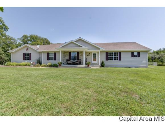 22325 Clemens Rd, Athens, IL 62613 (MLS #185765) :: Killebrew & Co Real Estate Team
