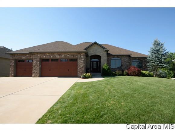 2817 Centennial Dr, Springfield, IL 62711 (MLS #185766) :: Killebrew & Co Real Estate Team