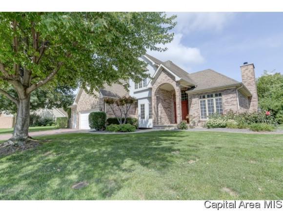 2909 Eagle Ridge Ct, Springfield, IL 62711 (MLS #185800) :: Killebrew & Co Real Estate Team
