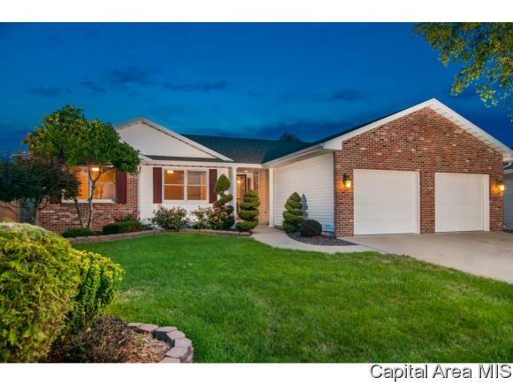 4213 Clearwater Ln, Springfield, IL 62703 (MLS #185811) :: Killebrew & Co Real Estate Team