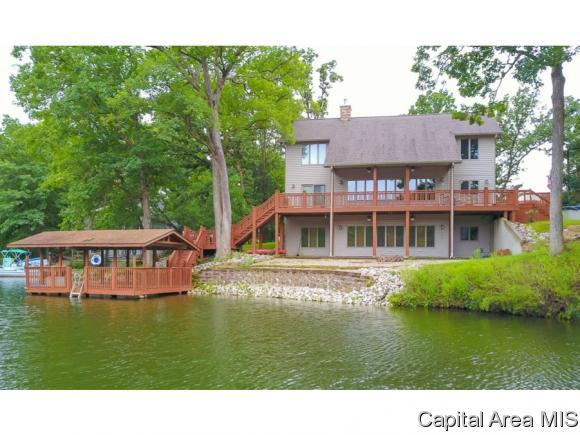 11714 Catatoga Dr, Plainview, IL 62685 (MLS #185812) :: Killebrew & Co Real Estate Team
