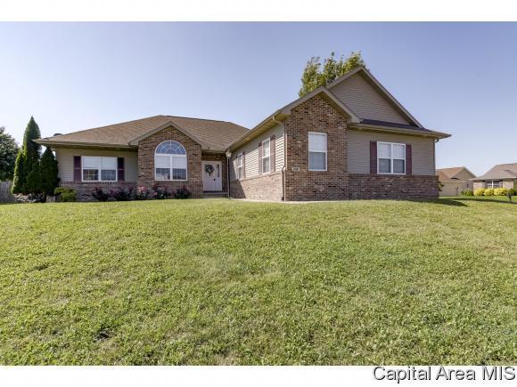338 Snider Ln, Chatham, IL 62629 (MLS #185898) :: Killebrew & Co Real Estate Team