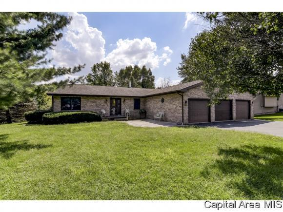 7705 Old Salem Ln, New Berlin, IL 62670 (MLS #185922) :: Killebrew & Co Real Estate Team