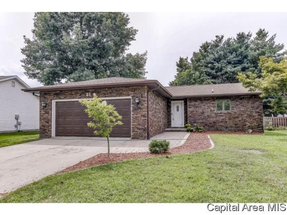 21 Hollybrook Dr, Springfield, IL 62702 (MLS #185958) :: Killebrew & Co Real Estate Team