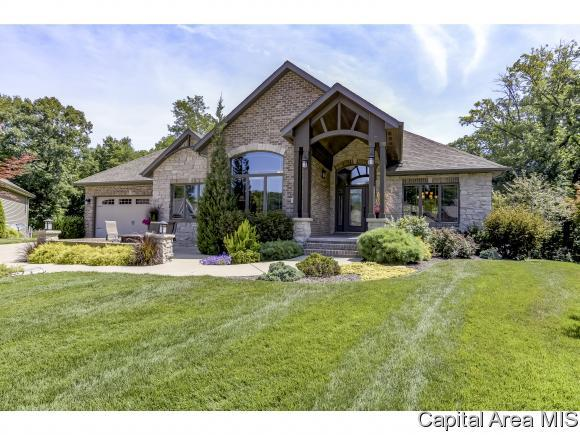501 Deer Meadow Dr, Chatham, IL 62629 (MLS #186014) :: Killebrew & Co Real Estate Team