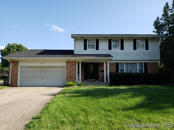 2500 Westchester Blvd, Springfield, IL 62704 (MLS #186112) :: Killebrew & Co Real Estate Team