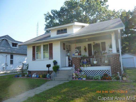 126 Howe St, Jacksonville, IL 62650 (MLS #186160) :: Killebrew & Co Real Estate Team
