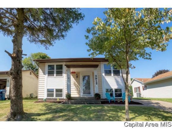 3913 Jonquil, Springfield, IL 62707 (MLS #186177) :: Killebrew & Co Real Estate Team