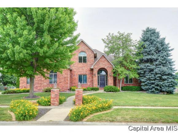 3709 Ginger Creek, Springfield, IL 62711 (MLS #186224) :: Killebrew & Co Real Estate Team