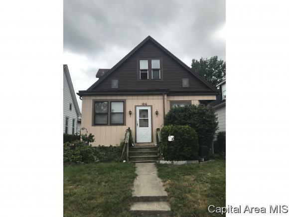 106 W Pine St, Springfield, IL 62704 (MLS #186346) :: Killebrew & Co Real Estate Team