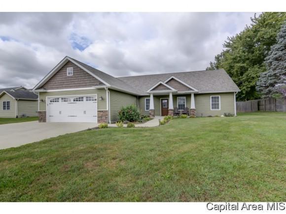 203 Barn Hollow, Athens, IL 62613 (MLS #186369) :: Killebrew & Co Real Estate Team