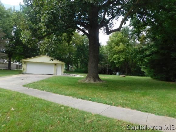 316 1st Street, Cantrall, IL 62625 (MLS #186373) :: Killebrew & Co Real Estate Team