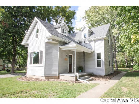 505 W Madison St, Athens, IL 62613 (MLS #186727) :: Killebrew RE